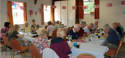 Ploughman's Lunch held in the Queen's Diamond Jubilee year