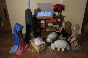 Nativity scene Church Foyer